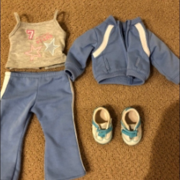 American Girl Other - American Girl track and field outfit